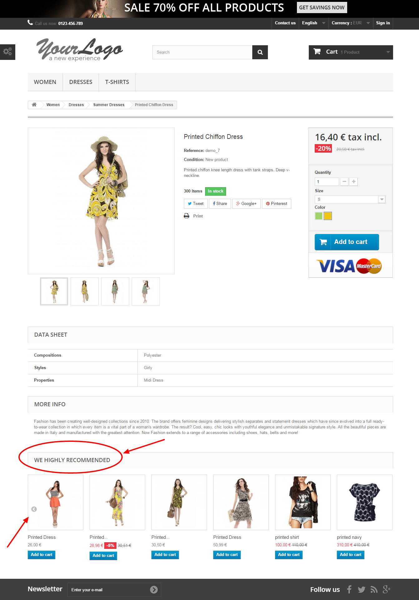 Recommended Product By Similar Price For Prestashop - 4